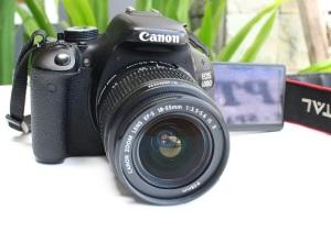 spesifikasi canon eos 600d