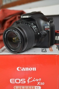 kamera canon kiss x50