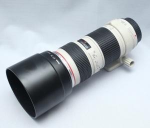 jual lensa canon 70-200 f4 second