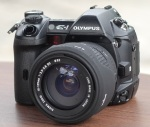 Jual kamera dslr olympus e1 Second