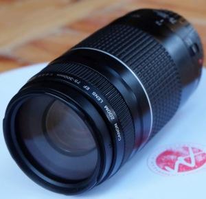 jual lensa canon 75-300 bekas