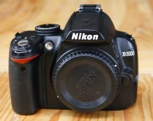 jual dslr kamera nikon d3000 bekas