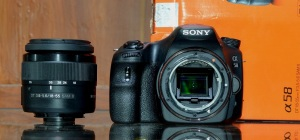 jual kamera dslr jual sony alpha a58 second