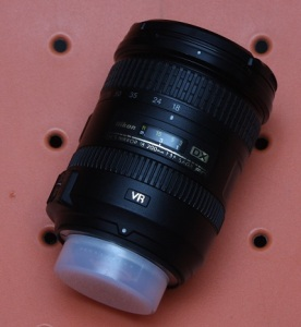 Jual lensa nikon 18-200 second
